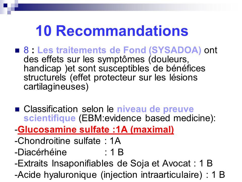 10 Recommandations