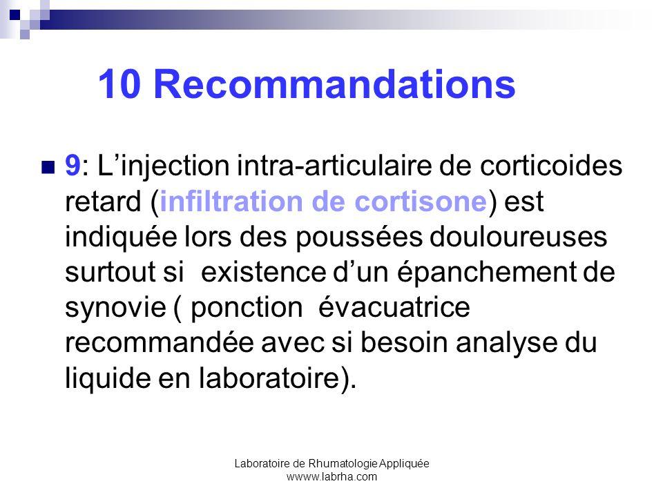 Laboratoire de Rhumatologie Appliquée wwww.labrha.com