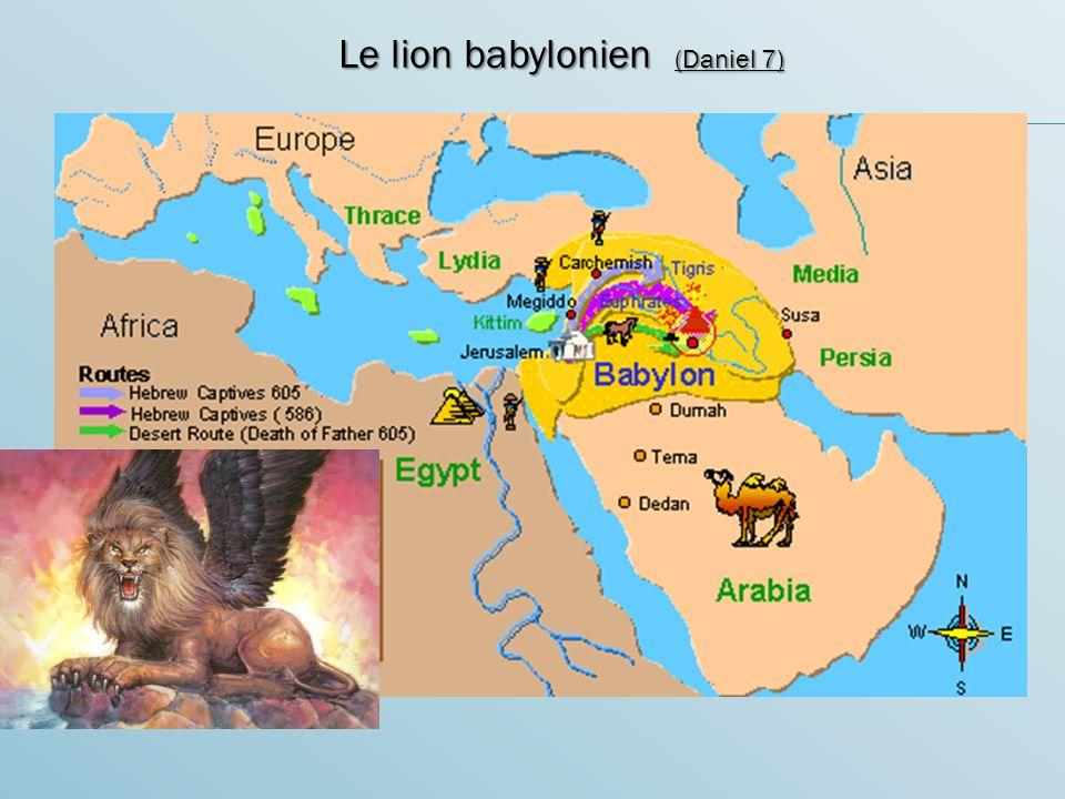 Le lion babylonien (Daniel 7)