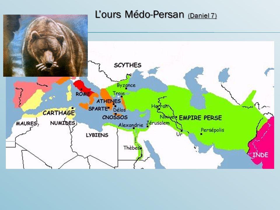L'ours Médo-Persan (Daniel 7)