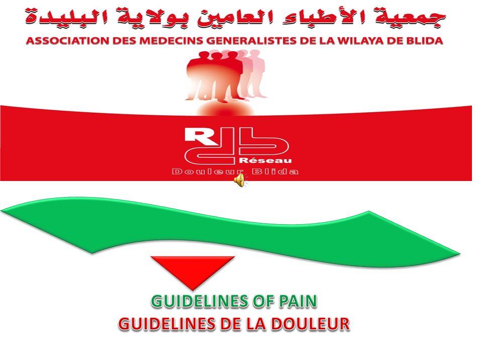GUIDELINES DE LA DOULEUR