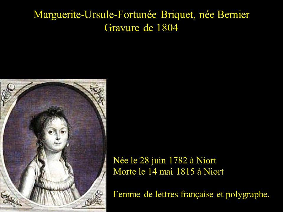 Marguerite-Ursule-Fortunée Briquet, née Bernier