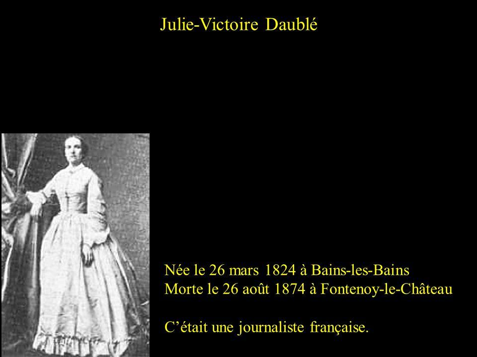Julie-Victoire Daublé