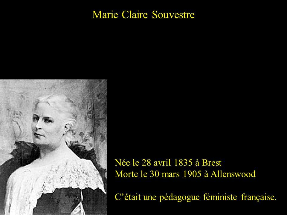 Marie Claire Souvestre