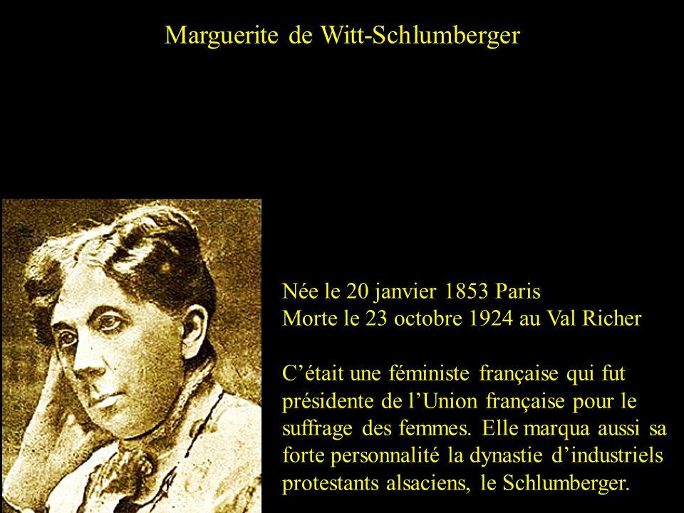 Marguerite de Witt-Schlumberger
