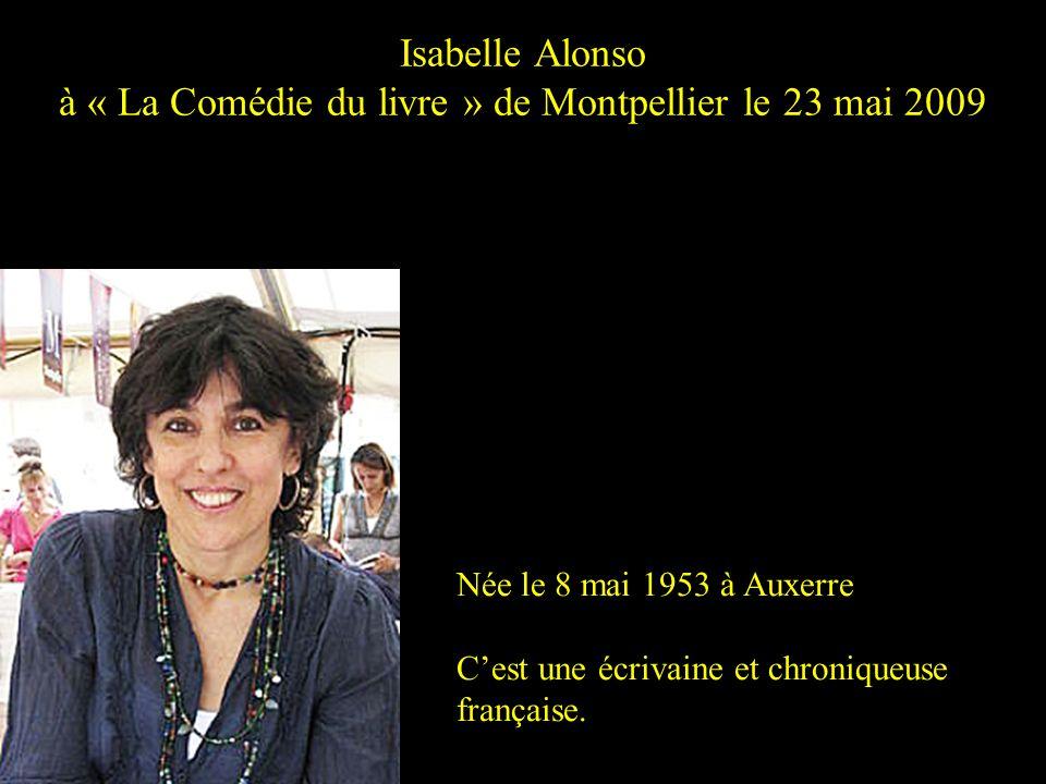 à « La Comédie du livre » de Montpellier le 23 mai 2009