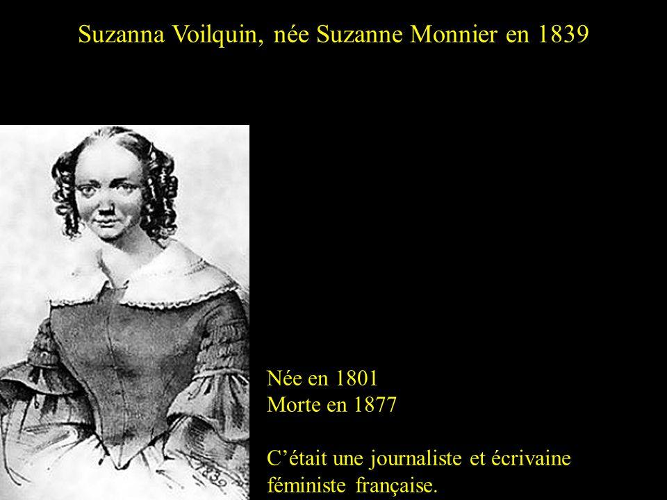 Suzanna Voilquin, née Suzanne Monnier en 1839
