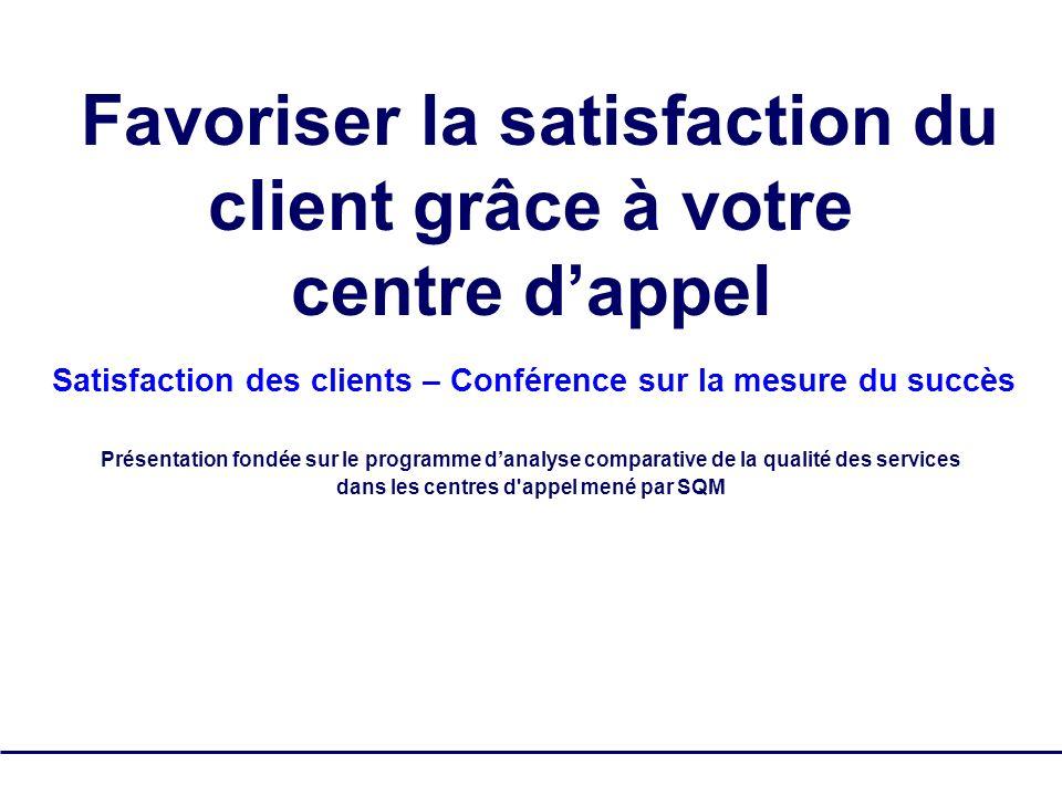 Favoriser la satisfaction du client grâce à votre centre d'appel