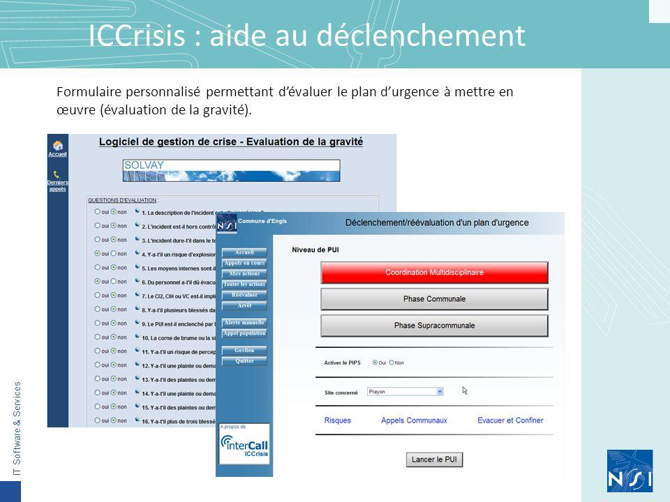 ICCrisis : aide au déclenchement