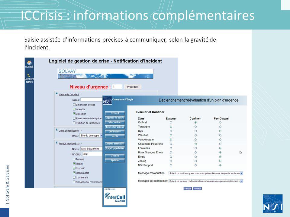 ICCrisis : informations complémentaires