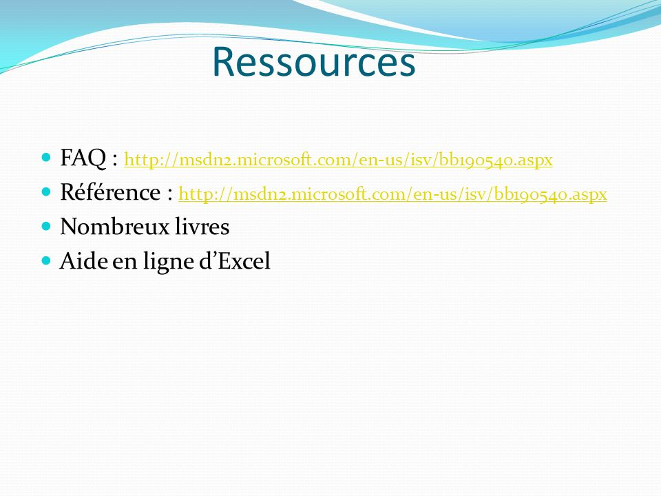 Ressources FAQ : http://msdn2.microsoft.com/en-us/isv/bb190540.aspx