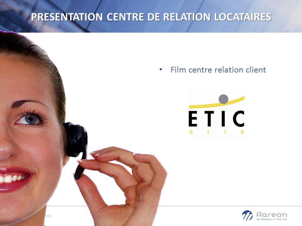 PRESENTATION CENTRE DE RELATION LOCATAIRES