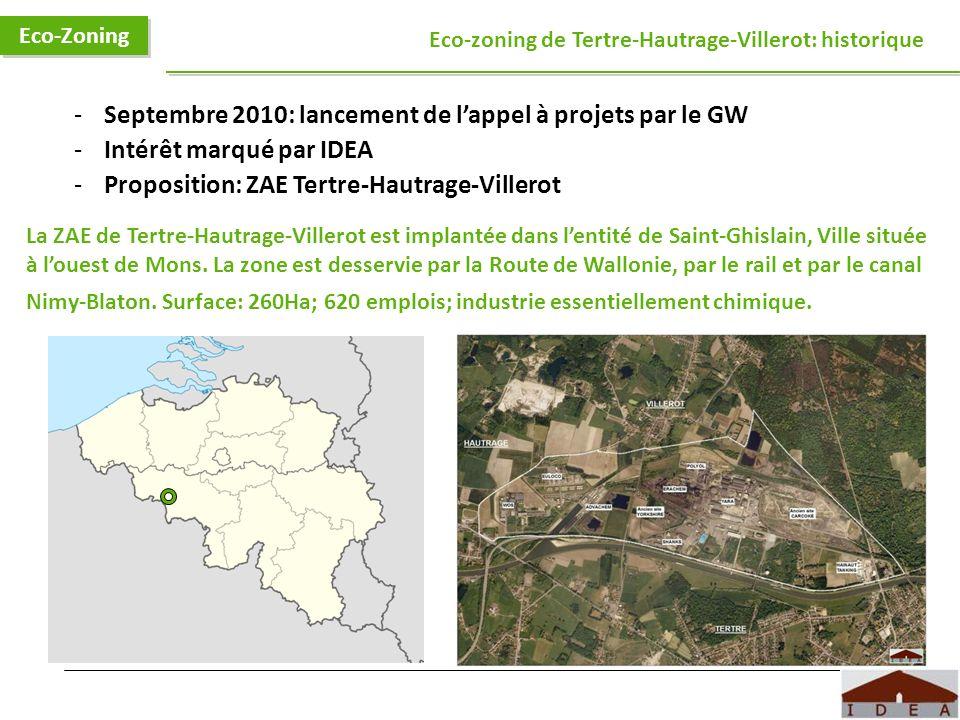Septembre 2010: lancement de l'appel à projets par le GW