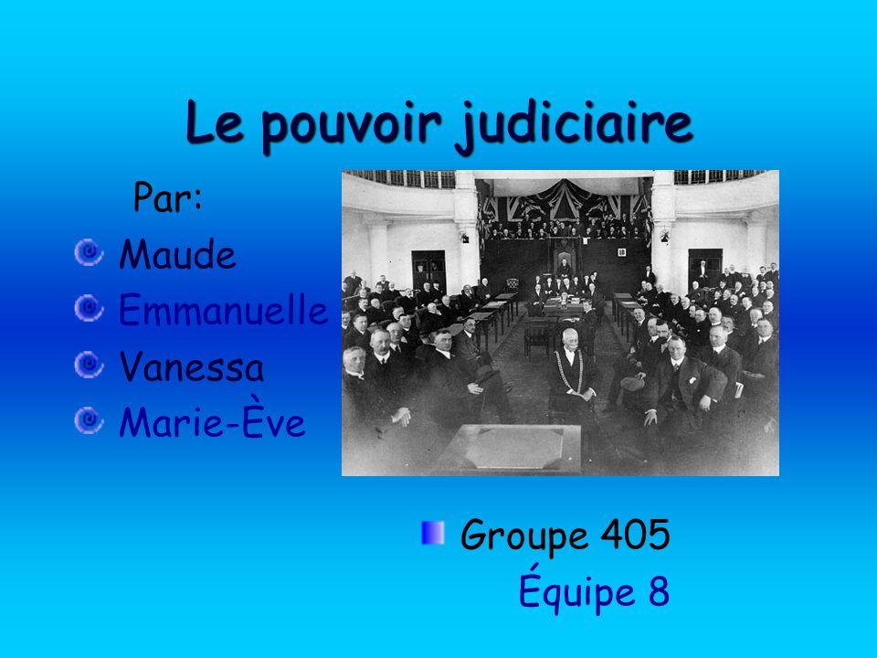 Par: Maude Emmanuelle Vanessa Marie-Ève Groupe 405 Équipe 8
