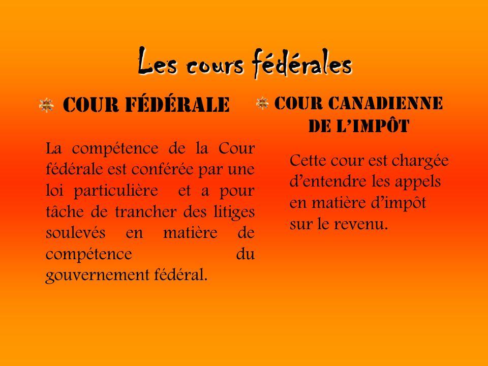 Cour Canadienne de l'impôt