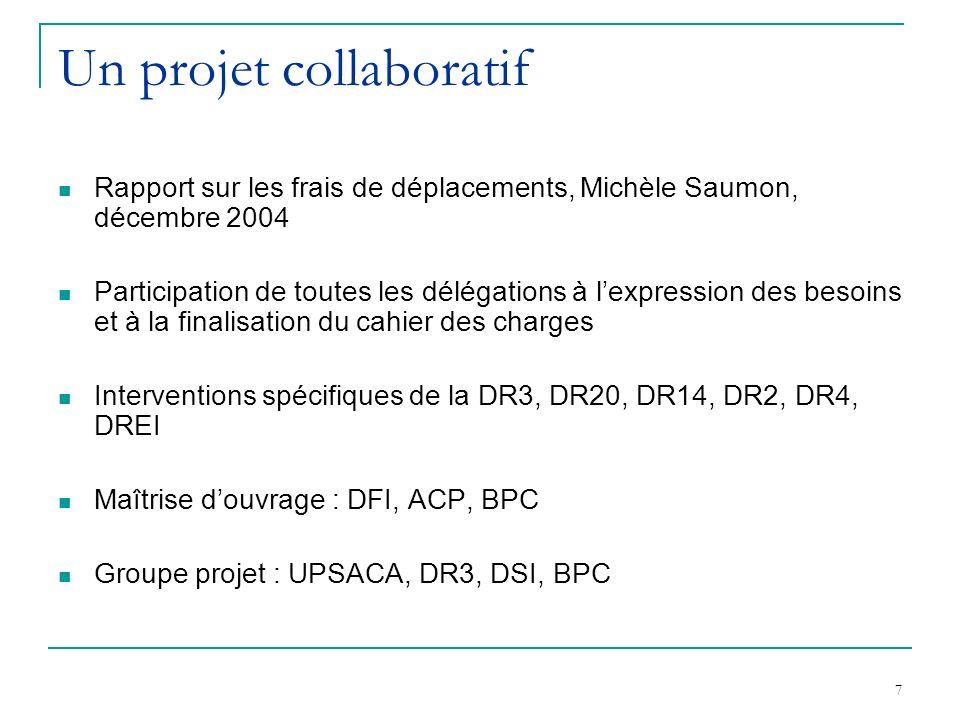 Un projet collaboratif