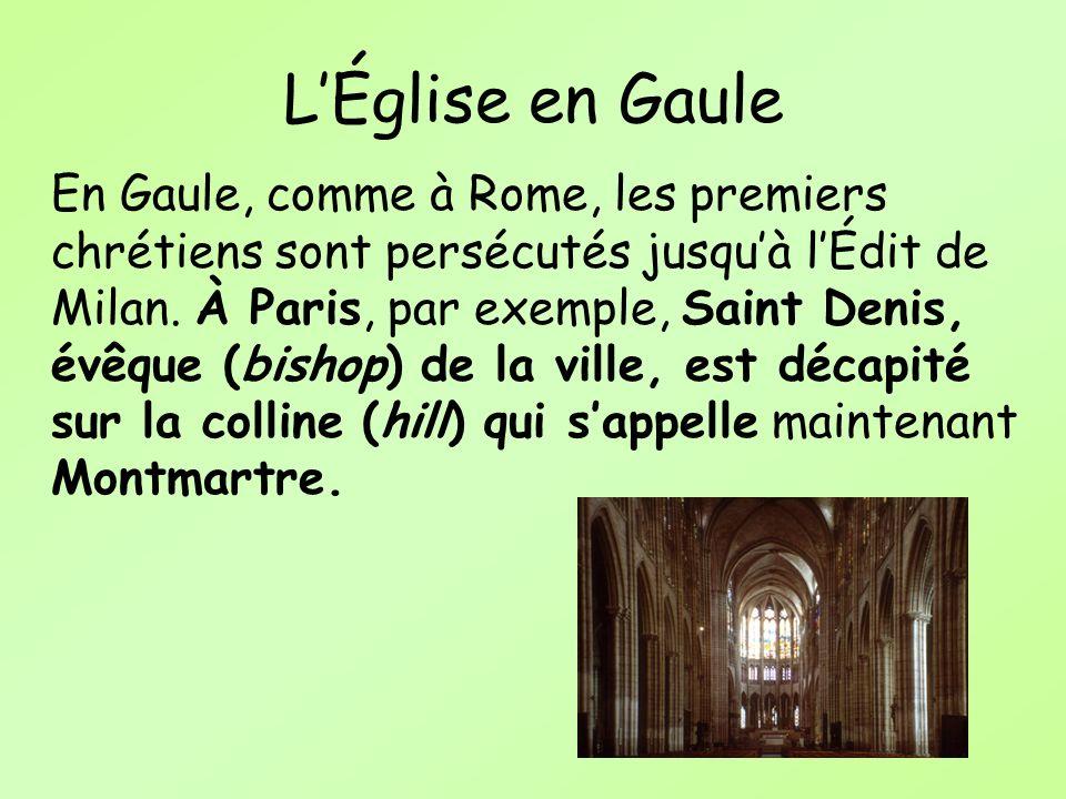 L'Église en Gaule