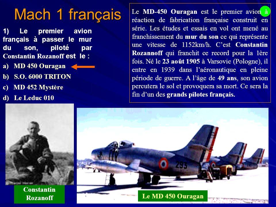 Mach 1 français