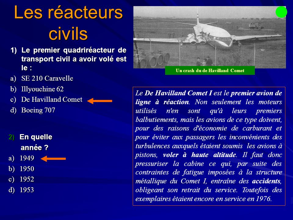 Un crash du de Havilland Comet