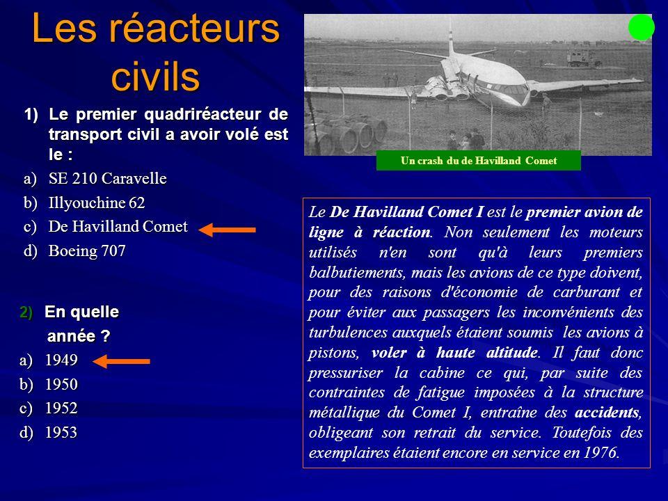Un crash du de Havilland Comet
