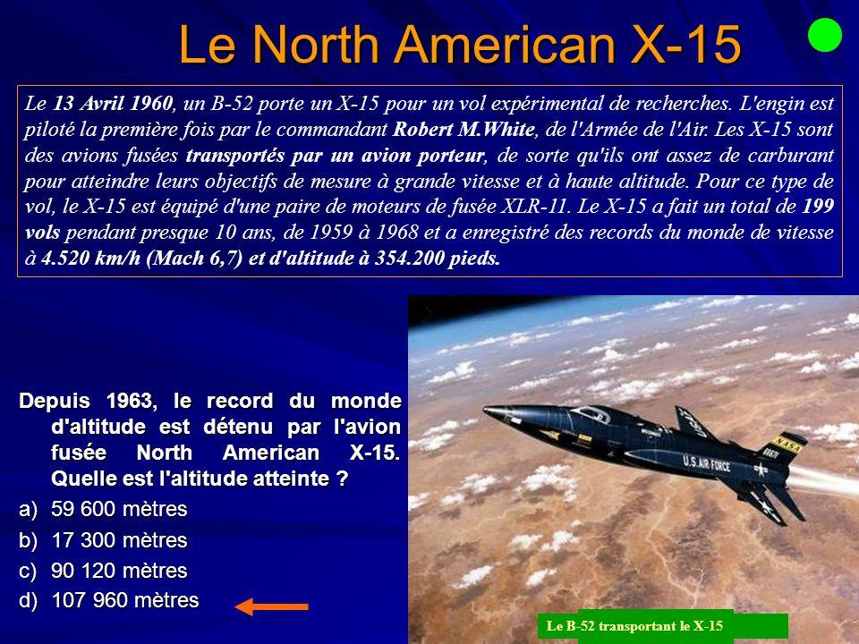 Le North American X-15