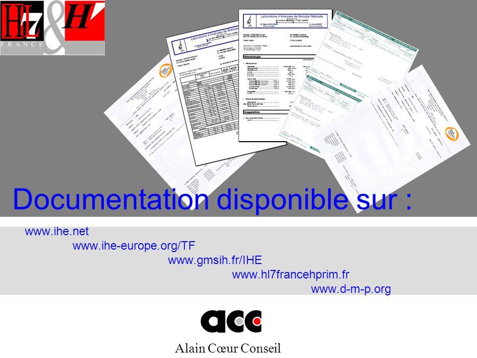Documentation disponible sur :