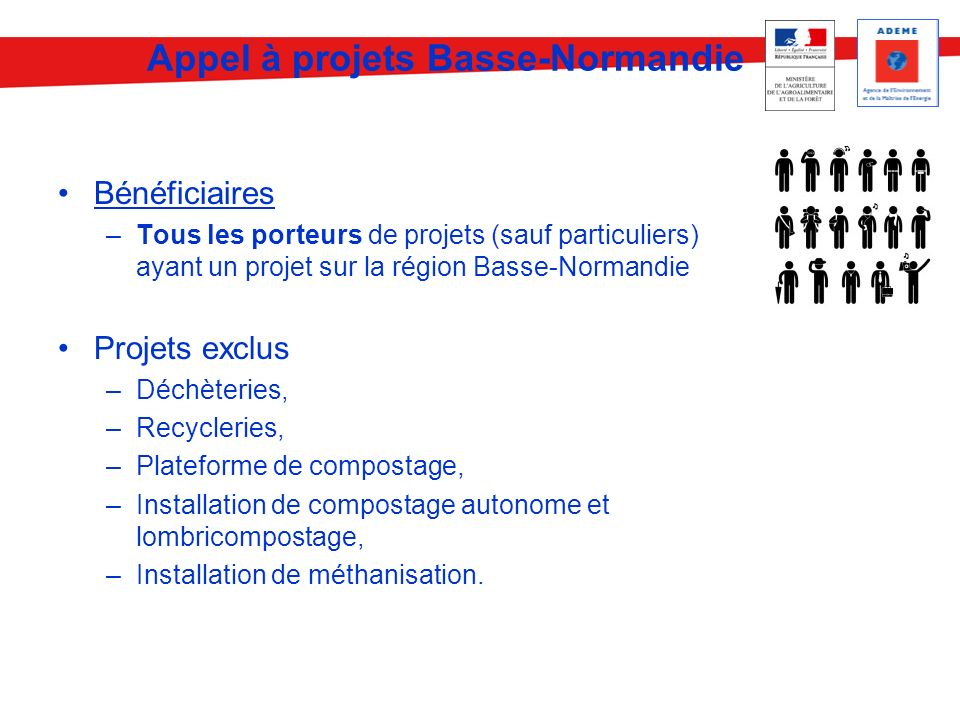 Appel à projets Basse-Normandie