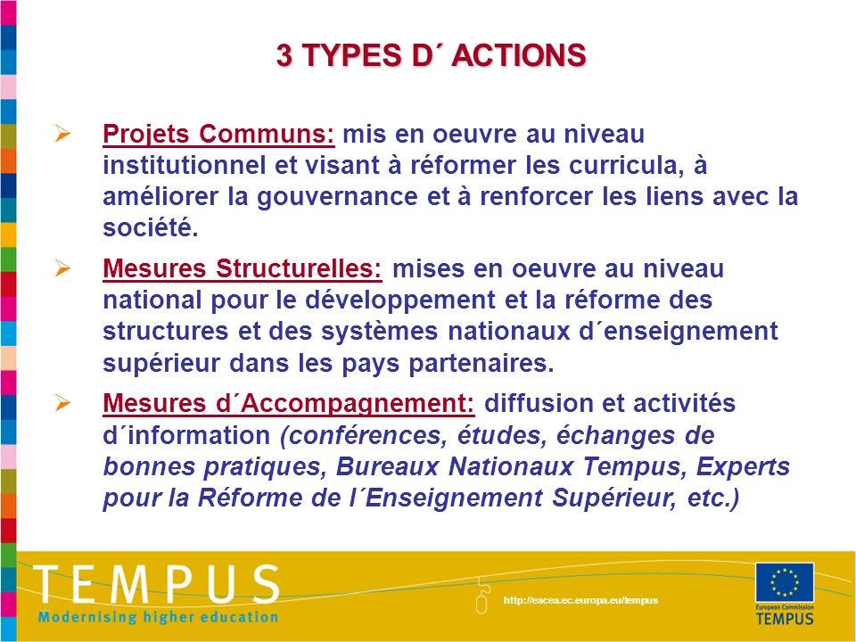 3 TYPES D´ ACTIONS