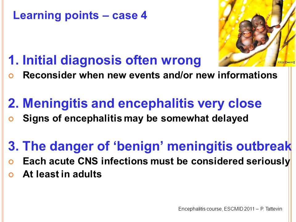 1. Initial diagnosis often wrong