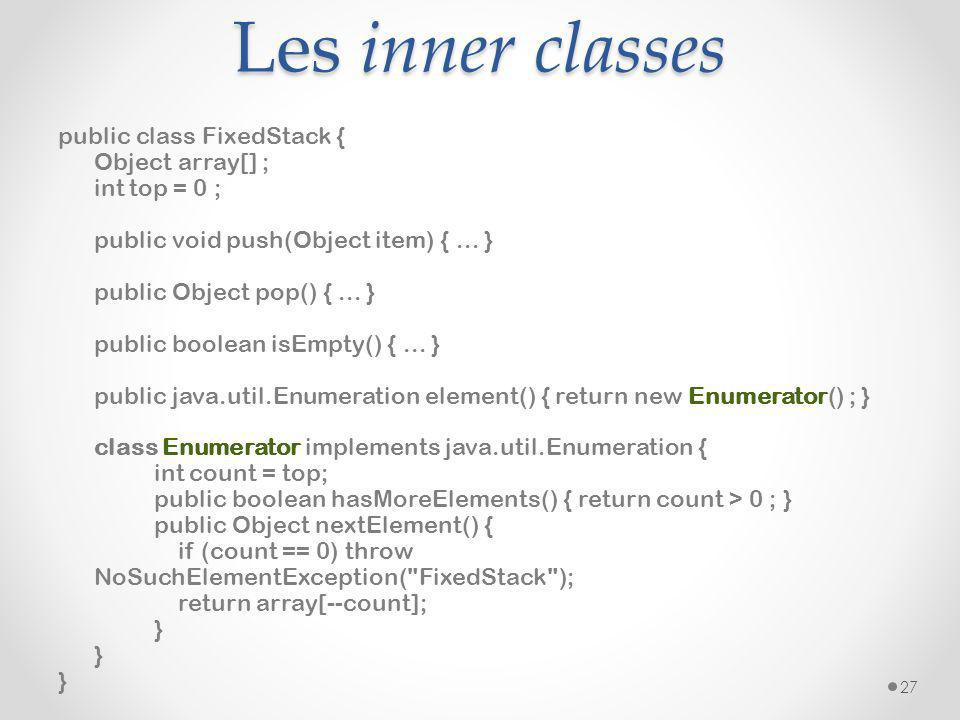 Les inner classes