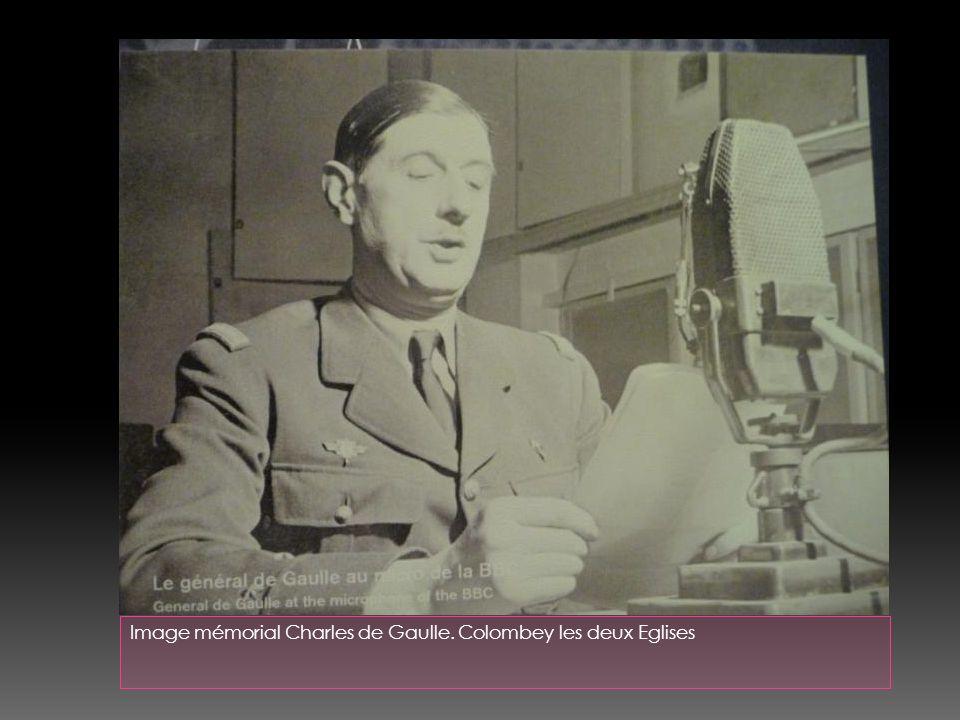 Image mémorial Charles de Gaulle. Colombey les deux Eglises
