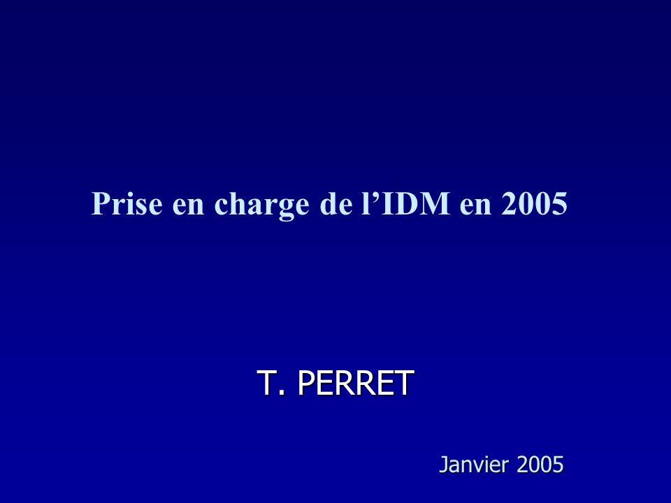 Prise en charge de l'IDM en 2005