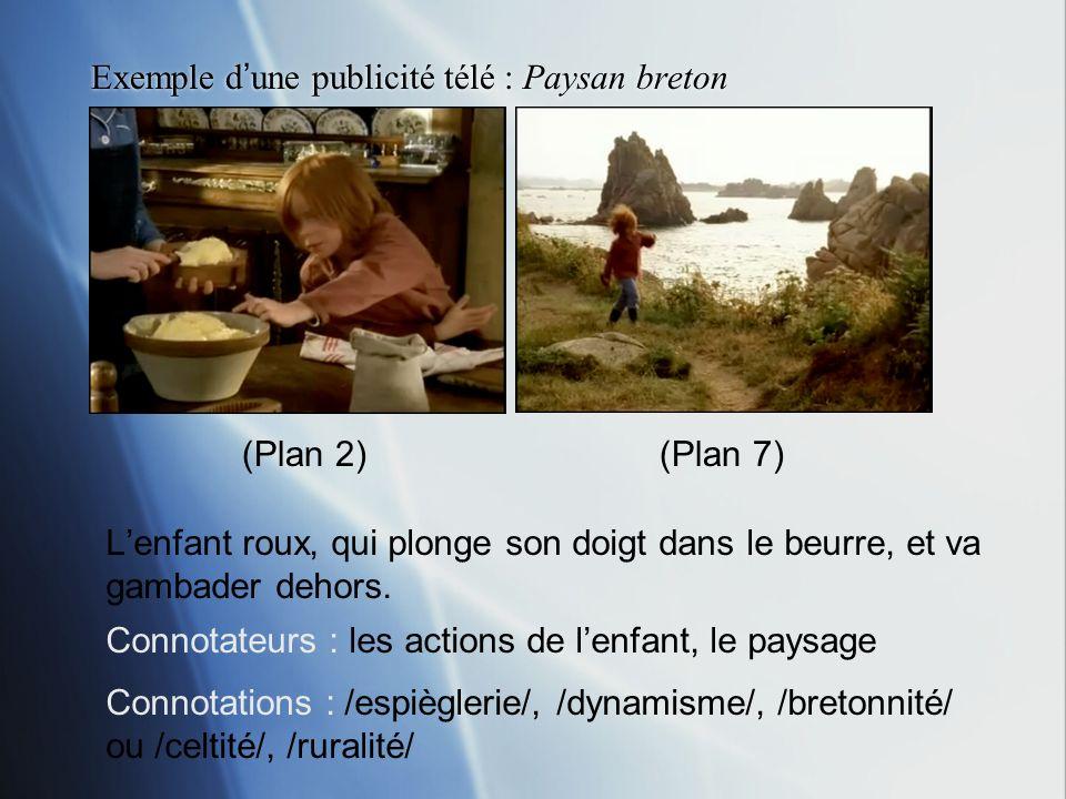 Exemple d'une publicité télé : Paysan breton