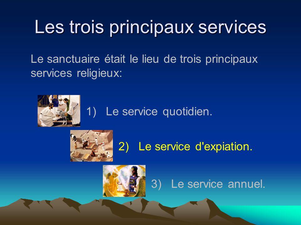 Les trois principaux services