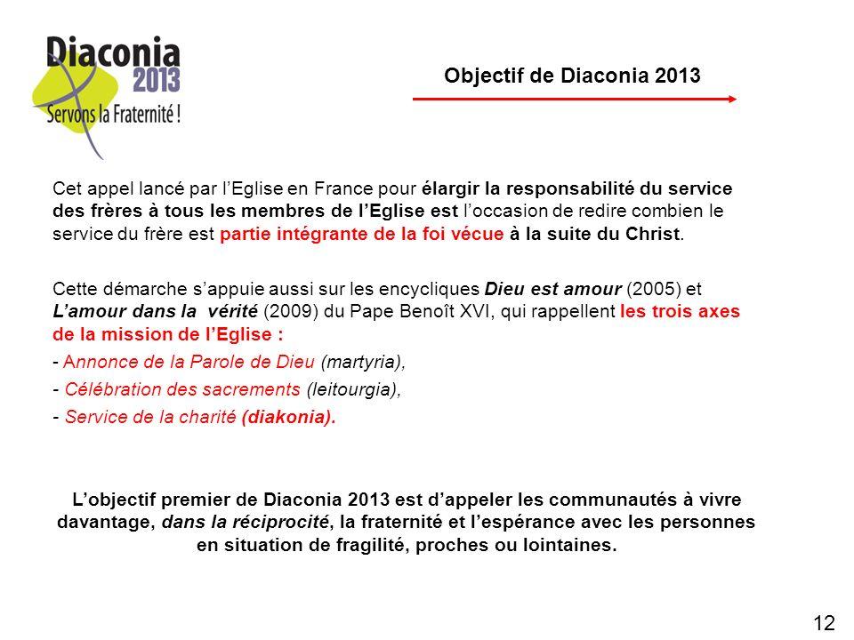 p Objectif de Diaconia 2013.