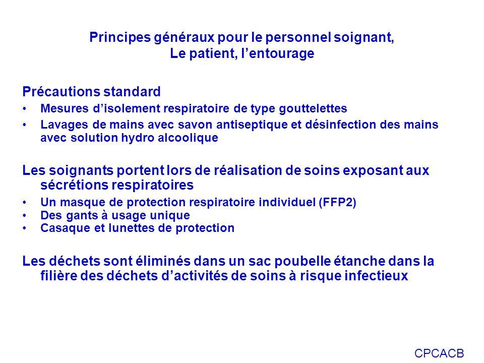 Principes généraux pour le personnel soignant, Le patient, l'entourage