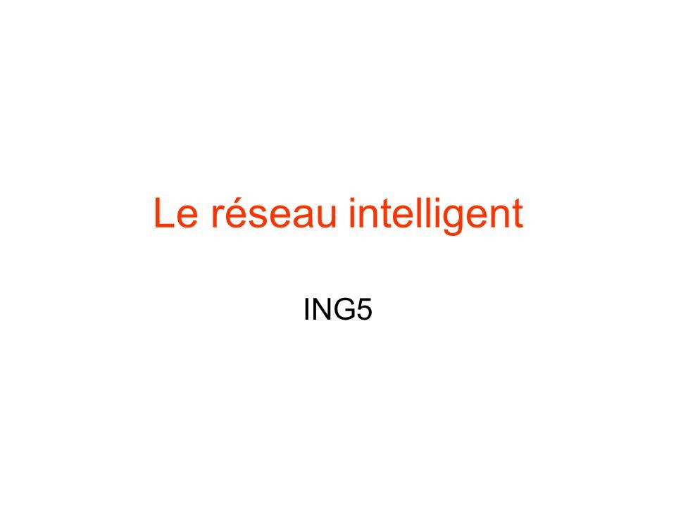 Le réseau intelligent ING5