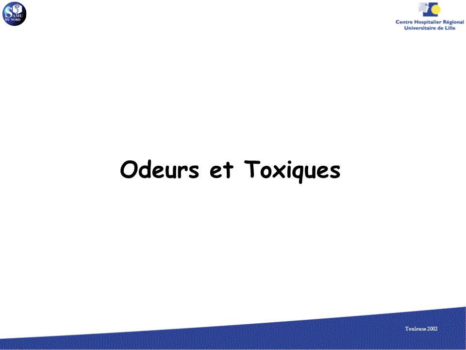 Odeurs et Toxiques Toulouse 2002