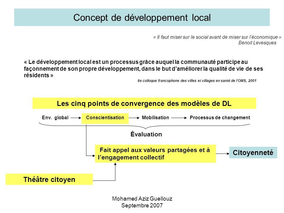 Concept de développement local