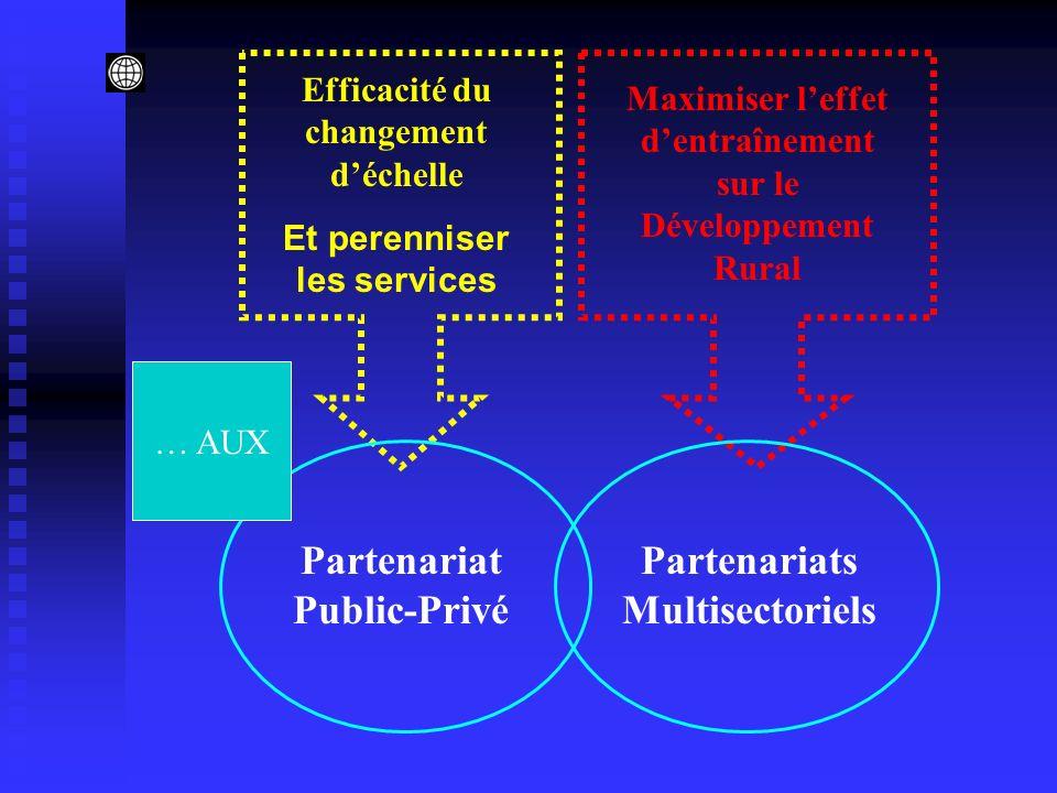 Partenariat Public-Privé Partenariats Multisectoriels
