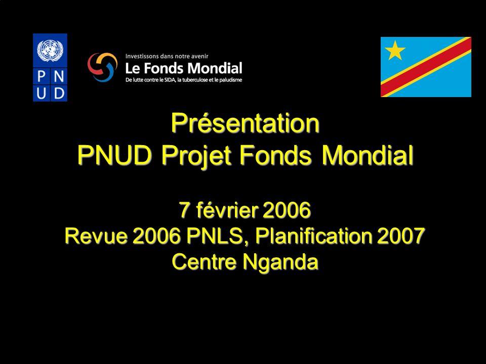 PNUD Projet Fonds Mondial