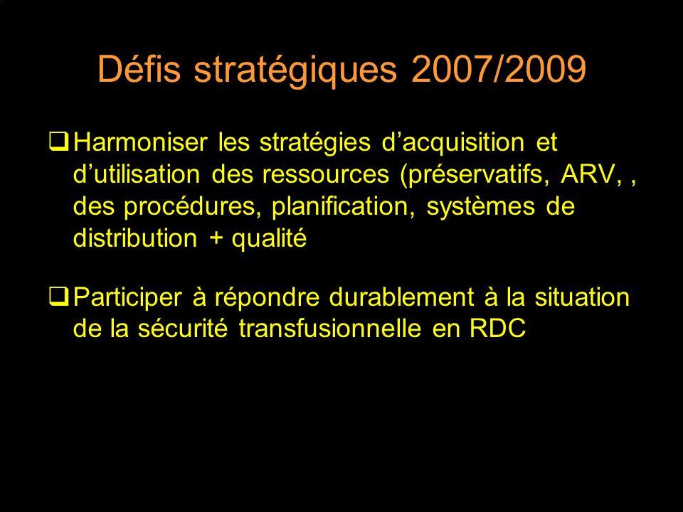 Défis stratégiques 2007/2009