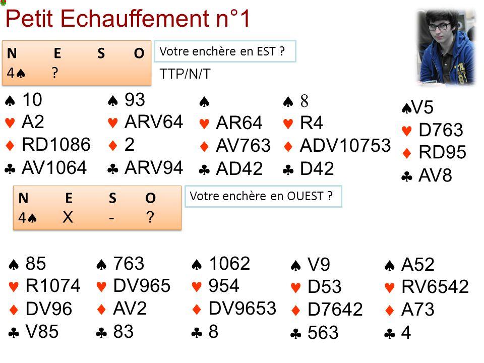 Petit Echauffement n°1  10  A2  RD1086  AV1064