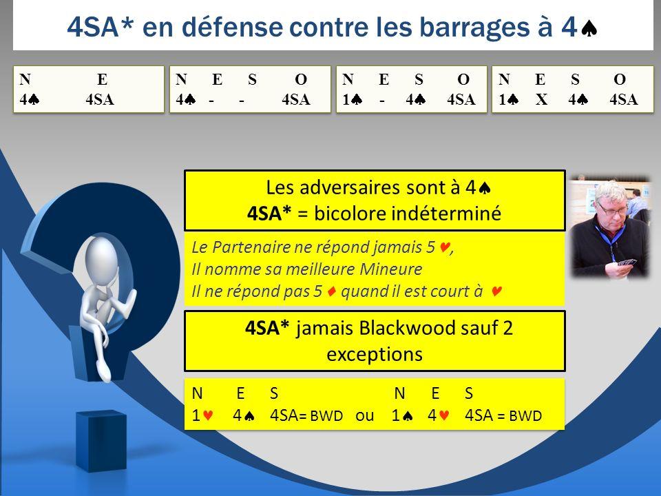 4SA* en défense contre les barrages à 4
