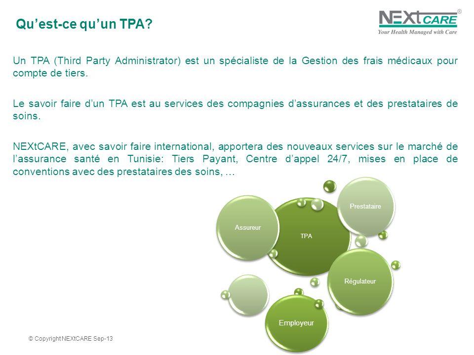 Qu'est-ce qu'un TPA Un TPA (Third Party Administrator) est un spécialiste de la Gestion des frais médicaux pour compte de tiers.