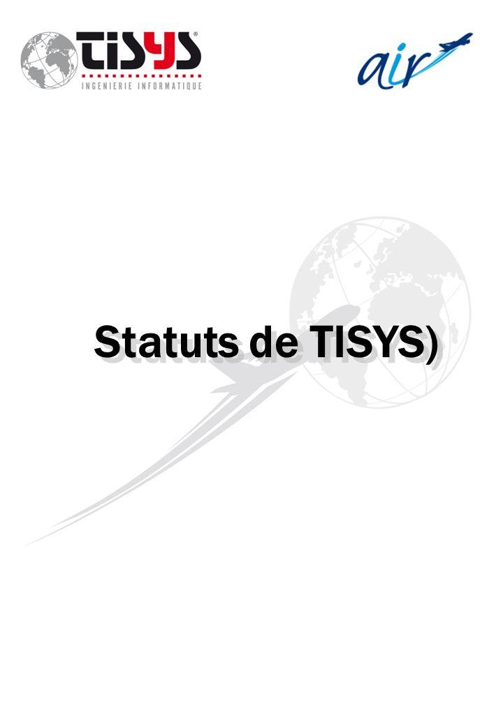 Statuts de TISYS)