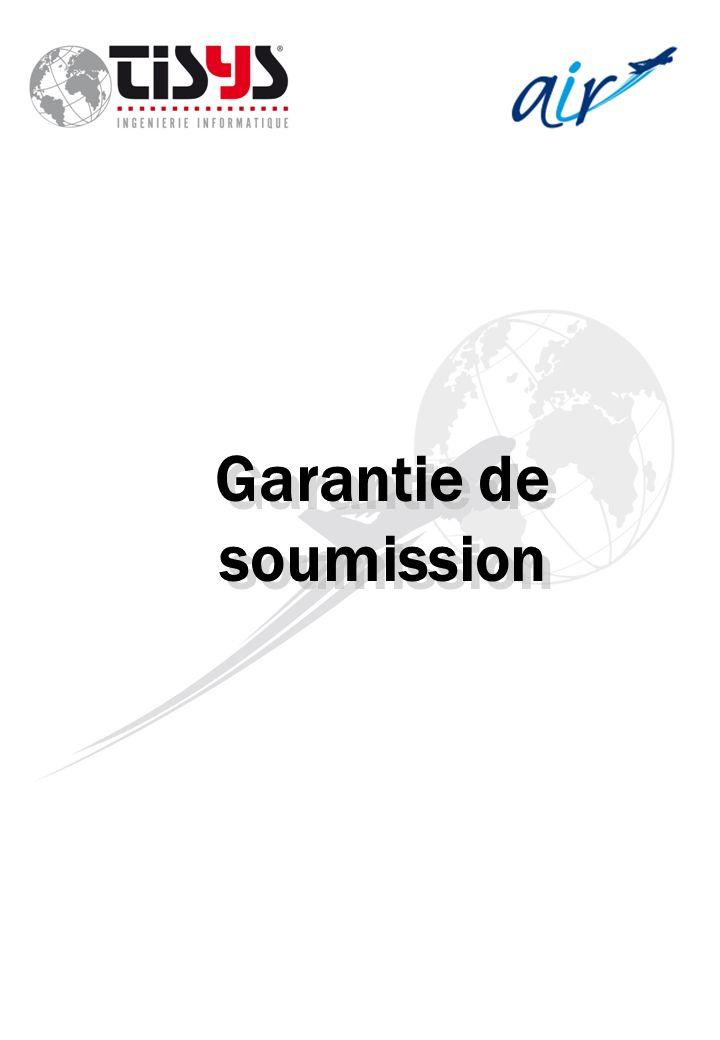 Garantie de soumission