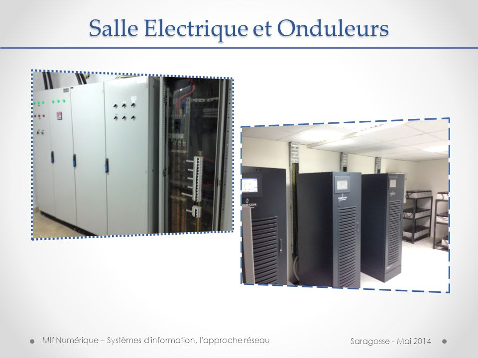Salle Electrique et Onduleurs