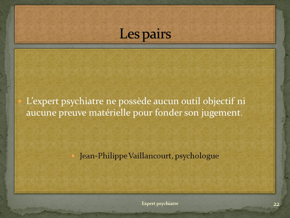 Jean-Philippe Vaillancourt, psychologue