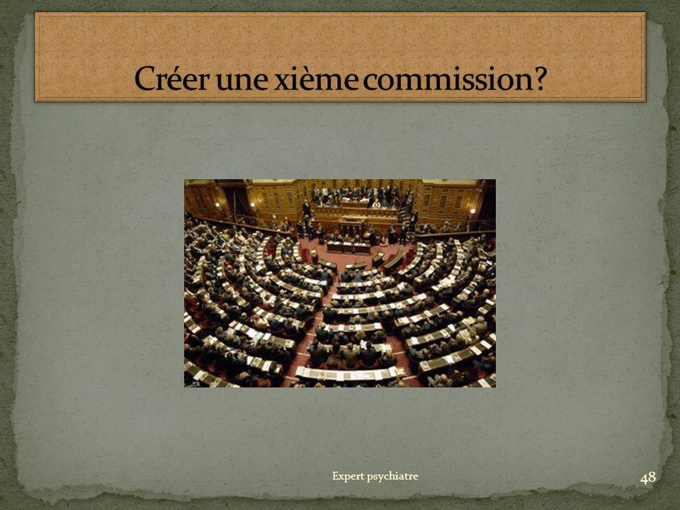 Créer une xième commission